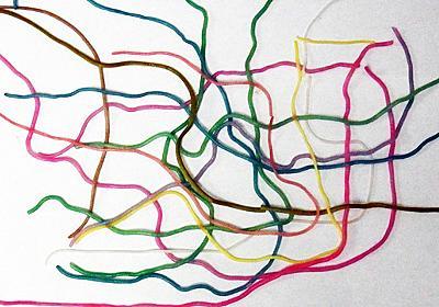 紫キャベツの煮汁で食べられる地下鉄路線図を作る(デジタルリマスター) :: デイリーポータルZ