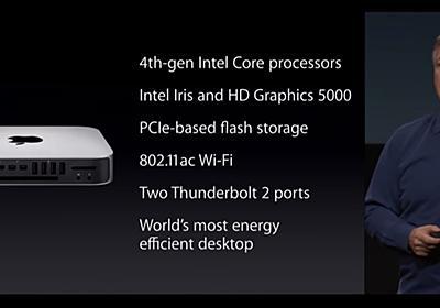 Mac miniがアップデートされないまま発売から4年が経過。 | AAPL Ch.