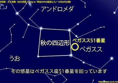 11月の夜空/11月の星空情報・天文現象 - 国立天文台その他 - 日々の与太