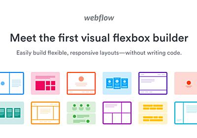 Visual CSS flexbox builder | Webflow