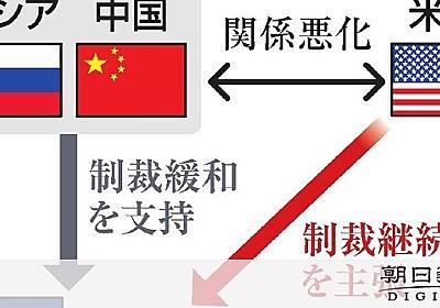 北朝鮮包囲網ほころび 中ロ、南北合意「歓迎」鮮明:朝日新聞デジタル