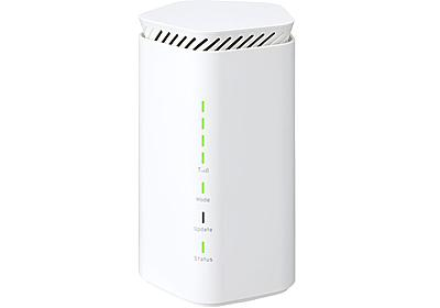 auとUQ WiMAXから工事不要のWi-Fi 6対応5Gホームルーター「Speed Wi-Fi HOME 5G L12」、11月上旬以降発売