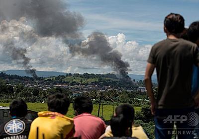 フィリピン南部マラウィ、軍と過激派が激戦 死者300人以上に 写真2枚 国際ニュース:AFPBB News