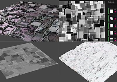 ブレンダーで2分で密度のあるパネルを作るチュートリアル動画   3DCG最新情報サイト MODELING HAPPY
