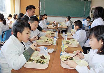女川町 給食メニューに鯨肉登場 おいしく食べてお勉強 子どもたちに大好評 - 石巻日日新聞