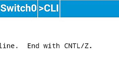 Cisco Packet Tracer Mobile(Android)上で、Catalyst2960に初期設定を入れてみた   Buddit Consulting InfraTeam
