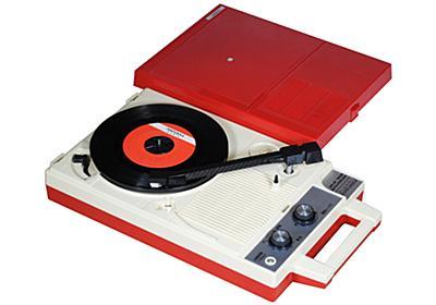 懐かしのポータブルレコードプレーヤー「GP-3R」が復刻。約18,000円 - AV Watch