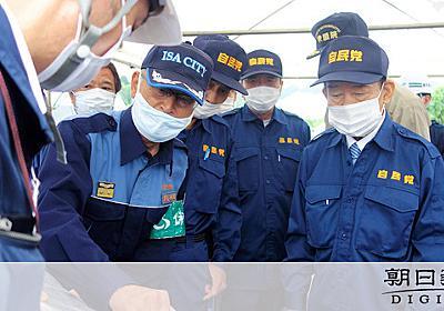 河井夫妻巡る質問に「災害の話にして」 二階氏側近遮る:朝日新聞デジタル