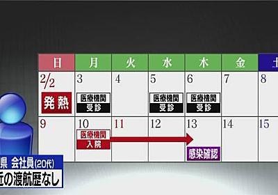 新型ウイルス感染の千葉県の男性 都内に電車通勤 千葉県調査 | NHKニュース