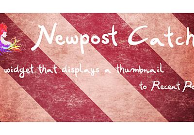 【いろんなところにサムネイル付き最新記事を表示できます】WordPressプラグイン「Newpost Catch」の新機能「ショートコード」の使い方 | 今村だけがよくわかるブログ