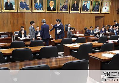 入管法改正案、問題次々と 野党反発「データ改ざんだ」:朝日新聞デジタル