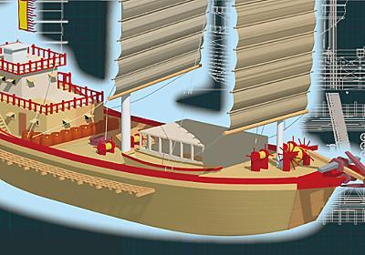 CGで完全再現したらわかった! 元寇で押し寄せた蒙古軍船の弱点(播田 安弘) | ブルーバックス | 講談社(1/4)