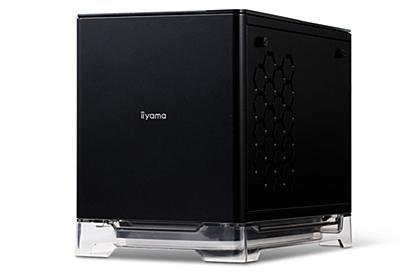 ユニットコム、ワイヤレス充電器内蔵の強化ガラス採用小型デスクトップPC - PC Watch