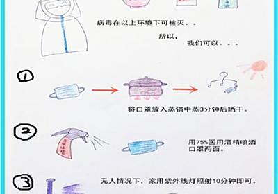 【新型コロナウイルス肺炎】(4)マスクの再利用法 - 黒色中国BLOG