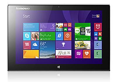 Lenovo,Windows 8.1タブレットの新作3モデルを北米で発表。8.3インチの「ThinkPad 8」と,「Miix 2」の10&11インチモデル - 4Gamer.net