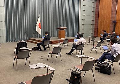 菅首相の声だけ流れる「グループインタビュー」はなぜ行われたのか - 毎日新聞