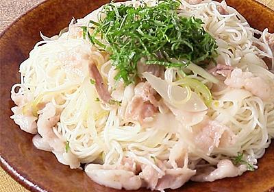 柚子胡椒そうめんチャンプルー 作り方・レシピ | 料理・レシピ動画サービスのクラシル