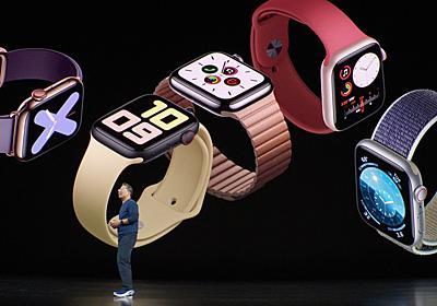 Apple Watch Series 5発表!ねんがんの常時ONディスプレイに! #AppleEvent | ギズモード・ジャパン