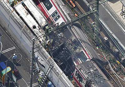 衝撃音そして黒煙、乗客は震え泣いていた 京急脱線事故 [京急脱線事故]:朝日新聞デジタル