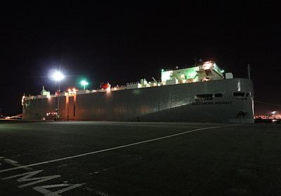 """""""K""""LINEの自動車運搬船SOUTHERN HIGHWAY - SHIPS OF THE PORT"""