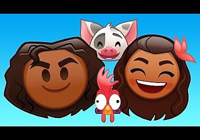 Moana As Told By Emoji | Disney
