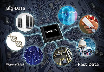 WD、同社製品搭載のプロセッサ/コントローラなどをRISC-Vへ移行 - PC Watch