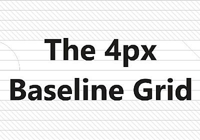 The 4px baseline grid — the present – UX Collective