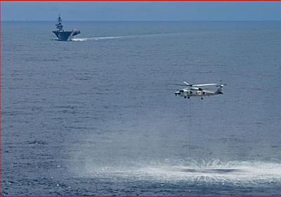 海上自衛隊、南シナ海で対潜戦訓練、支那の海洋進出をけん制 - 素人が新聞記事書いてみた