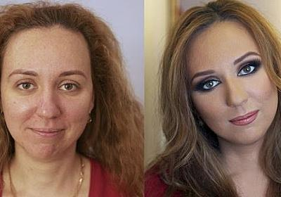 Make up Miracles : Before and After ~ Damn Cool Pictures