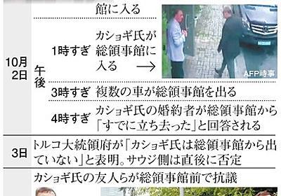 「何も隠すことない」強気だったサウジ、事件に誤算あり:朝日新聞デジタル