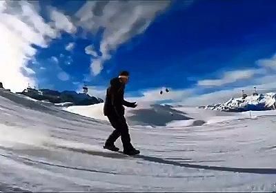 新たなウィンタースポーツ「スノーフィート」が誕生