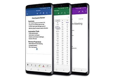 Microsoft、Officeアプリなどをプリインストールした「Galaxy S9」シリーズを販売 - PC Watch