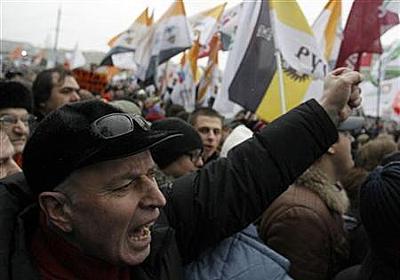 ロシア全土に反政府デモ拡大、ソ連崩壊後で最大規模   ロイター