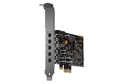 クリエイティブ、7.1ch出力/DSD拡張できるサウンドカード