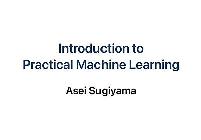 Introduction to Practical Machine Learning - Speaker Deck