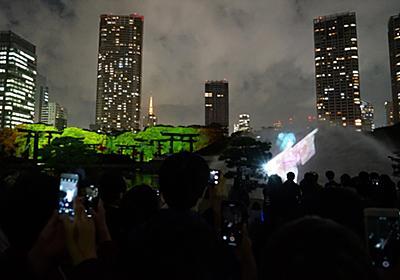 東京150年祭に技術協力。浜離宮で初音ミクのプロジェクションマッピングを上映 【映像・音響機材紹介】ヒビノ | BREAK TIME