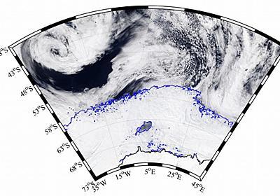 南極の海の氷に大穴、大きさは北海道に匹敵 | ナショナルジオグラフィック日本版サイト
