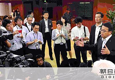 愛知)知事選対応問われ 河村市長「南無阿弥陀仏」:朝日新聞デジタル