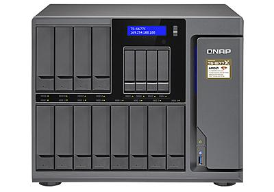 QNAP、ビデオカードでAIも処理できるRyzen搭載16ベイNAS  - PC Watch