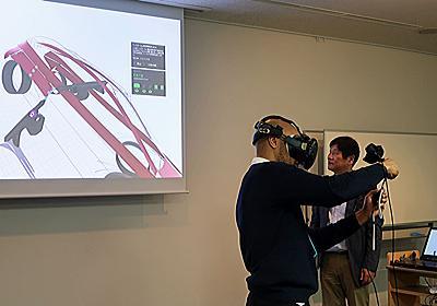 「VR空間でデザイン」をワコムが提案 試作機でデモを披露 - ITmedia NEWS