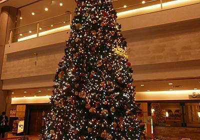 夜の散歩 クリスマスツリー色々 - たけちゃんのあんなことこんなこと