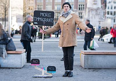 「ものごい」の代替手段 : ストリートディベーターという職業が、路上生活者を社会復帰に導く|WIRED.jp