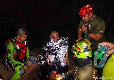 洞窟で瞑想中に水位上昇…閉じ込められた僧侶救出 タイ 写真5枚 国際ニュース:AFPBB News