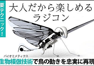 本物の鳥を操るような感覚。大人のためのラジコン飛行機「MetaFly」 - Engadget 日本版