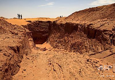 盗掘で消えるスーダンの歴史、金を求め遺跡を破壊 重機の利用も 写真14枚 国際ニュース:AFPBB News