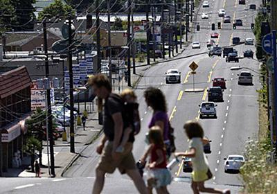 最新の研究によると、都心の暮らしと郊外の暮らしはたいして違わないことが分かった - Togetter