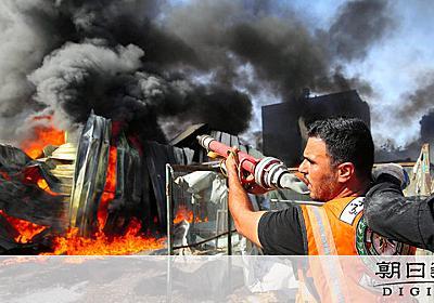 ガザ住民「世界の終わりのよう」 子ども59人が犠牲に [ガザ情勢]:朝日新聞デジタル
