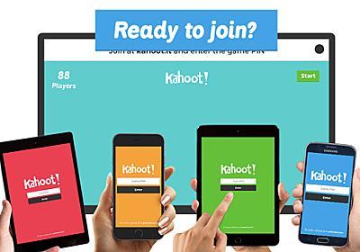 Facebook社も愛用!社内教育からプレゼンにも、楽しく学べるクイズツール「Kahoot!」 | SELECK [セレック]
