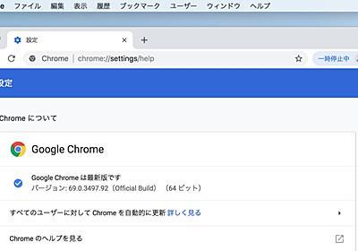 Google、Chrome v69のOmniboxで「www/m」サブドメインが消える問題を修正し、「www」についてはv70で再度削除予定。 | AAPL Ch.