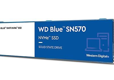 WD、最大1TBのクリエイター向けM.2 NVMe SSD。Adobe Creative Cloud付属